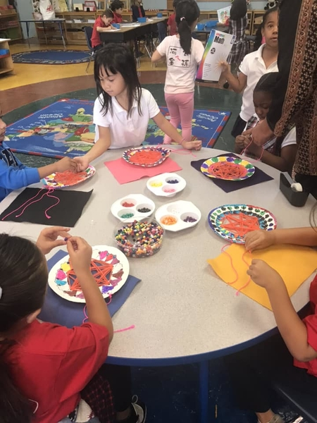 Preparing for the United Nations Day - Central American Crafts