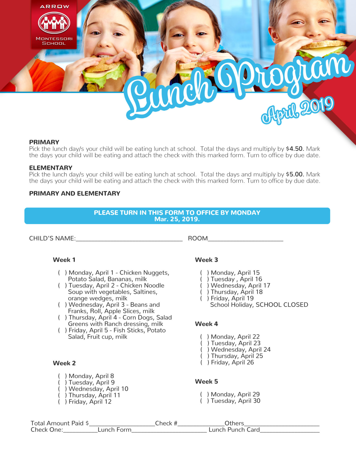 Lunch Program
